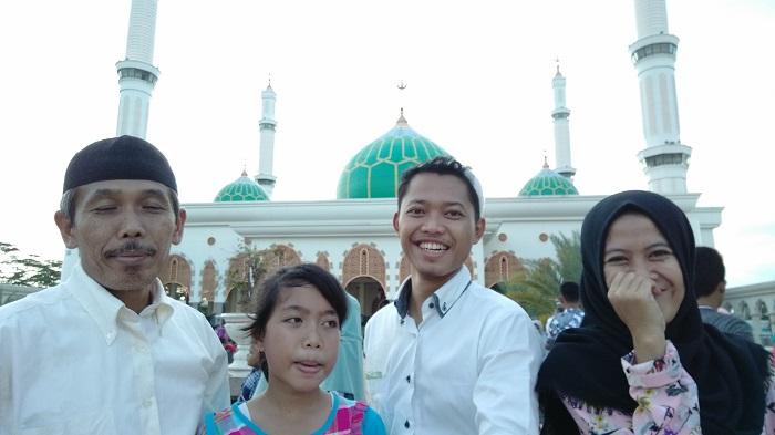 Wisata masjid Pasir Pengaraian