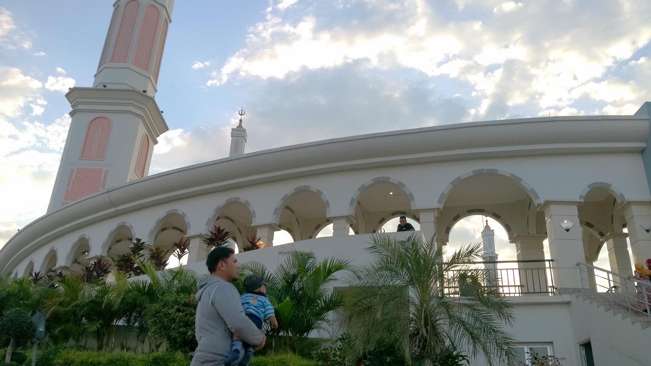 sudut lain masjid islamic center masjid pengaraian