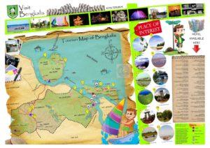 Peta tempat wisata di Bengkalis Riau