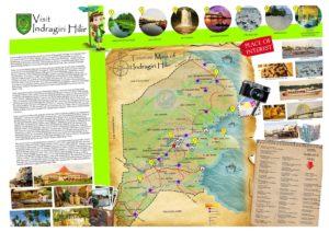 Peta tempat wisata di Indragiri Hilir Riau