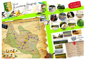 Peta tempat wisata di Kuantan Singingi Riau