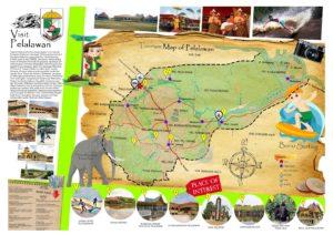Peta tempat wisata di Pelalawan Riau
