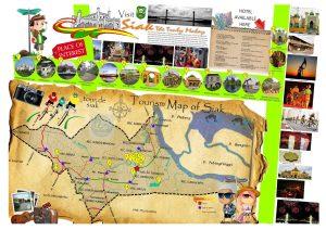 Peta tempat wisata di Siak Riau