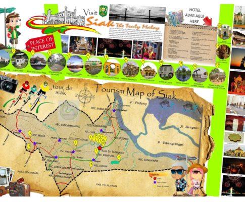 Download Peta Tempat Wisata di Riau (Pekanbaru dan Semua Kabupaten)