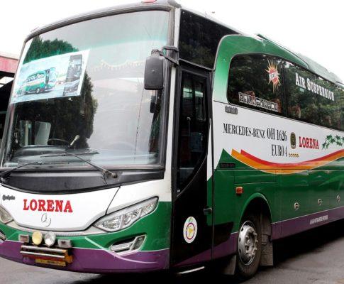 Naik Bus Lorena lintas Sumatra-Jawa, apa rasanya?