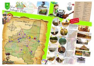 Peta tempat wisata di Indragiri Hulu Riau