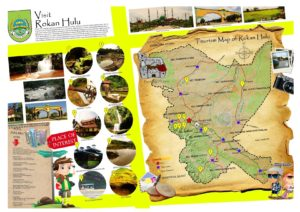 Peta tempat wisata di Rokan Hulu Riau