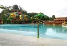 Sangkan Resort Aqua Park Kuningan - Pantai dan Perahu