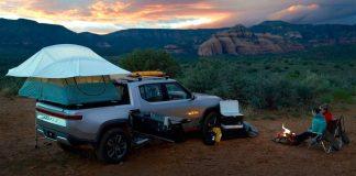 Double cabin campervan